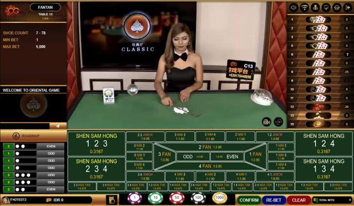 Tentang Permainan FanTan Casino Online