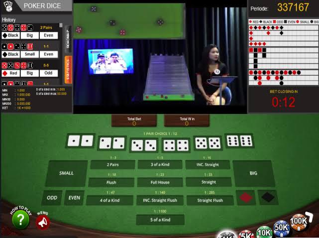 Poker Dice IDN Live Casino Online