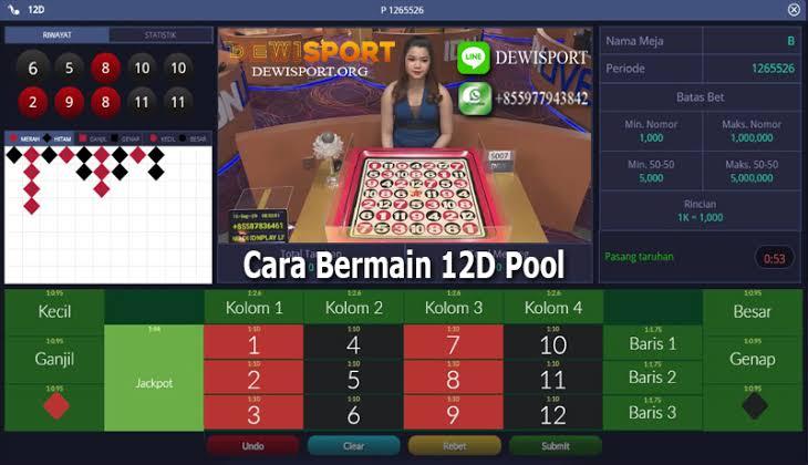 Cara bermain 12D IDN Live