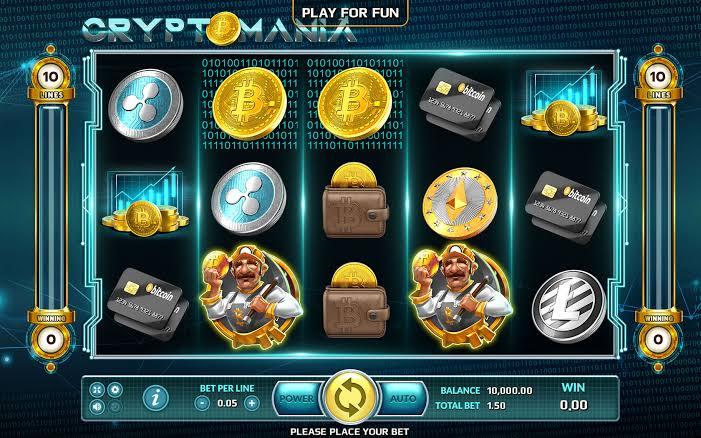 Slot Crypto Mania Joker123